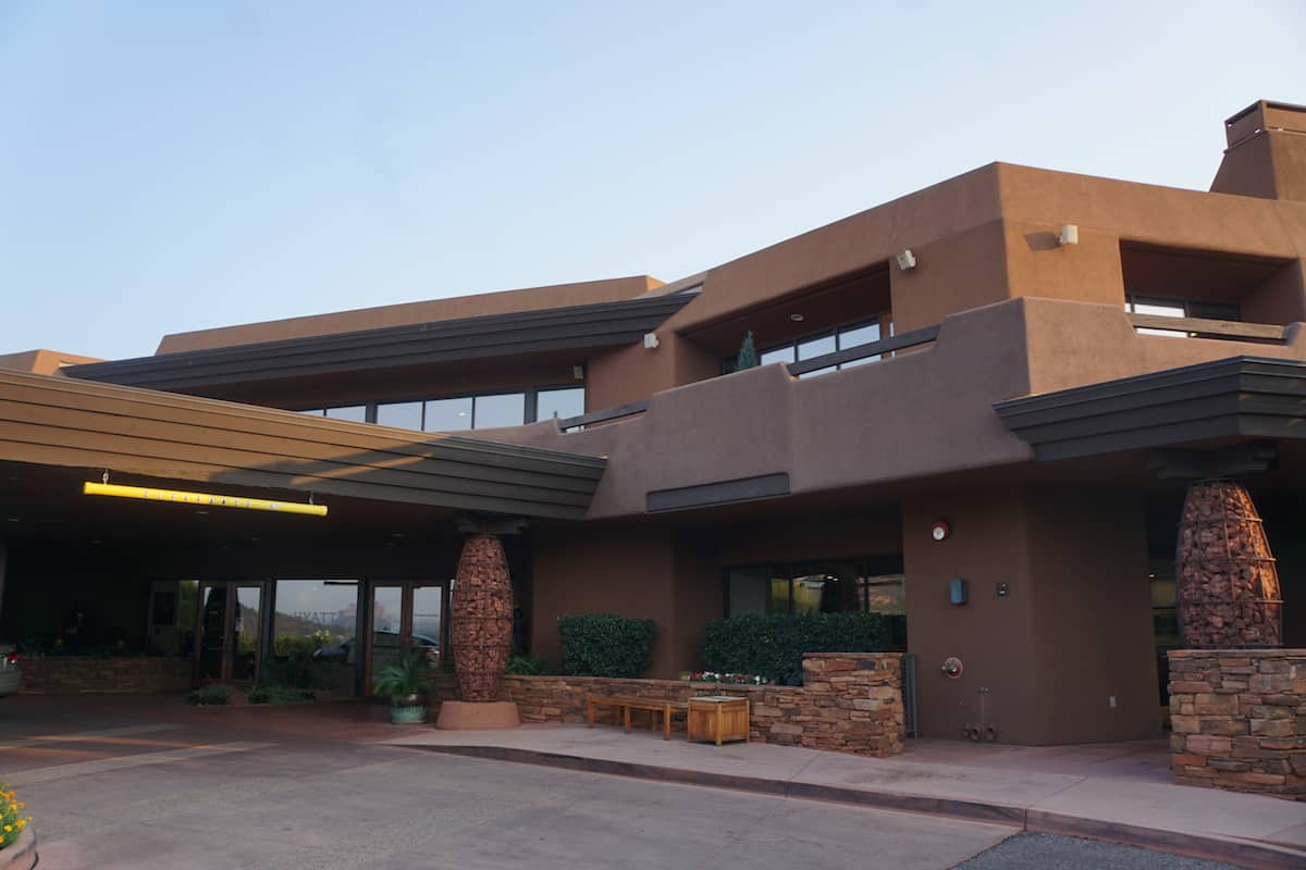 The Hyatt Residence Club Sedona Pinon Pointe is a Category 4 hotel which costs 15,000 points or a points + cash rate of $100 and 7,500 points.