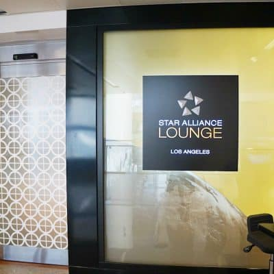 Star Alliance Business Class Lounge LAX Review