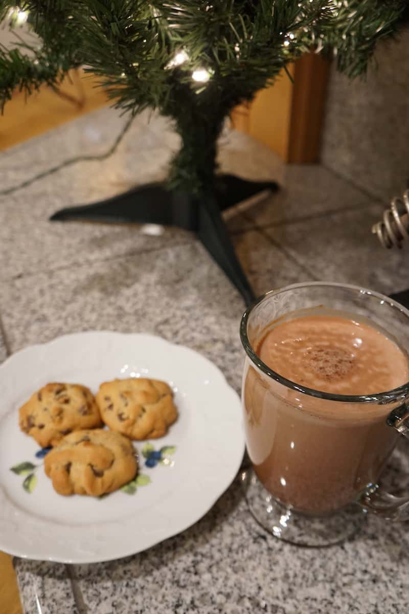 Santa will be sure to stop by your house when you leave him a mug of adult chocolate milk with Don Q Gran Anejo rum. | TravelingWellForLess.com