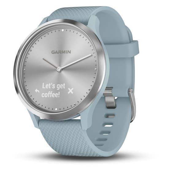 sea foam garmin vivomove HR smartwatch