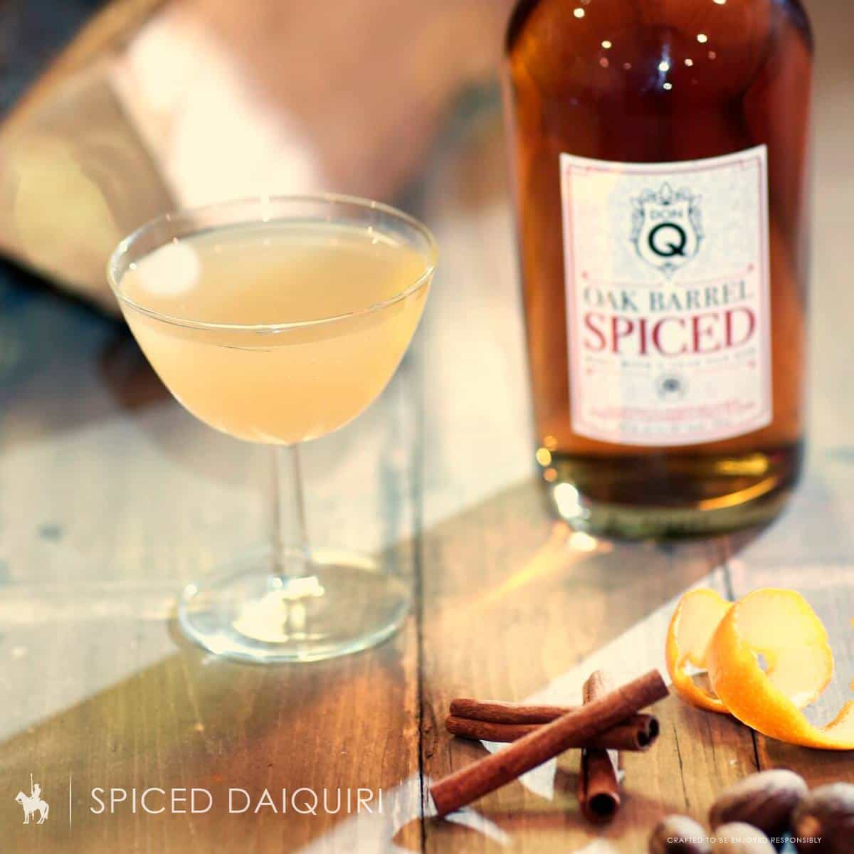 Kick up your Daiquiri a notch with Don Q Oak Barrel Spiced rum. TravelingWellForLess.com