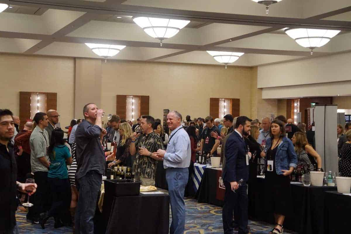 The Tasting at SommCon offers first sips on the wines and spirits before the Grand Tasting Event. You get to enjoy the wine in an intimate setting and mingle with Master Sommeliers. | San Diego Bay Wine and Food Festival | things to do in San Diego | wine | TravelingWellForLess.com