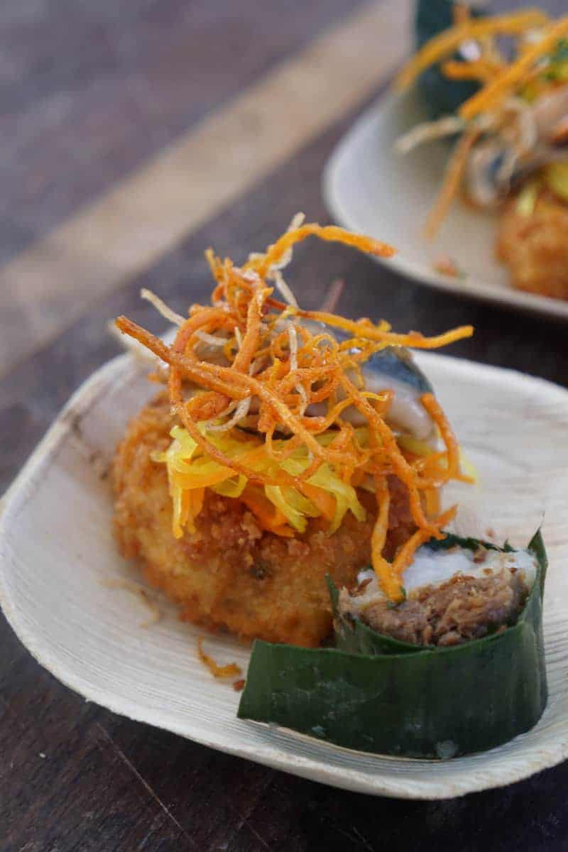 Crab cake | San Diego Bay Wine and Food Festival | things to do in San Diego | wine | TravelingWellForLess.com