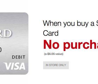 No Fee on Visa Gift Cards