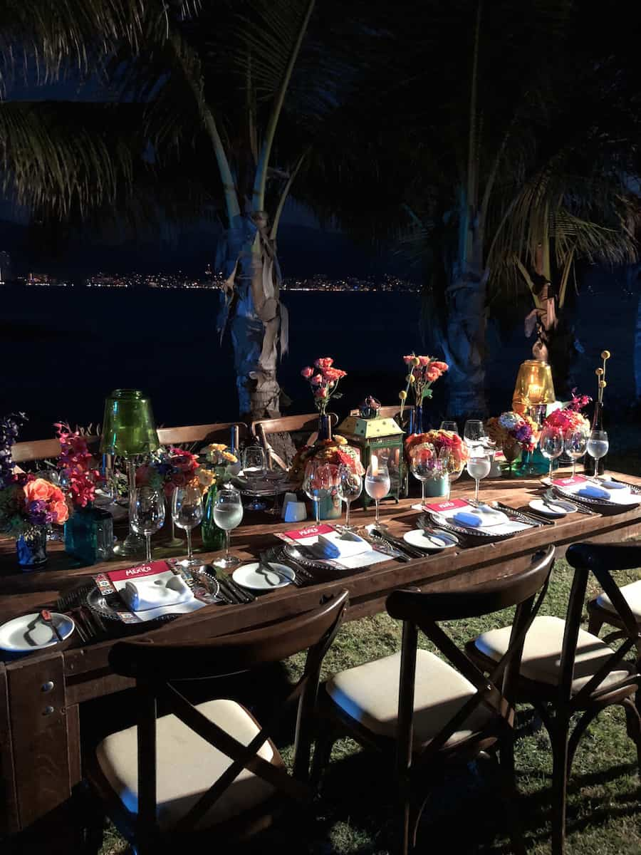 Embark on a culinary journey around Mexico with a six-course Dine Around Mexico dinner. | Marriott Puerto Vallarta Resort & Spa | where to stay in Puerto Vallarta | www.TravelingWellForLess.com