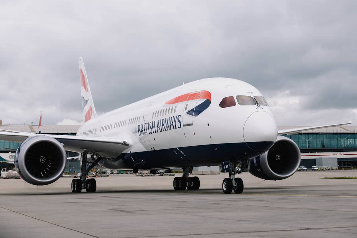 New British Airways Boeing 787-8 Arriving from the Boeing Factory in Seattle to London Heathrow. Taken: 29th September 2017 Picture by: Stuart Bailey