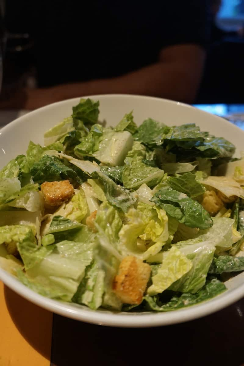 Caesar salad Silver Trumpet, best things to do in Costa Mesa