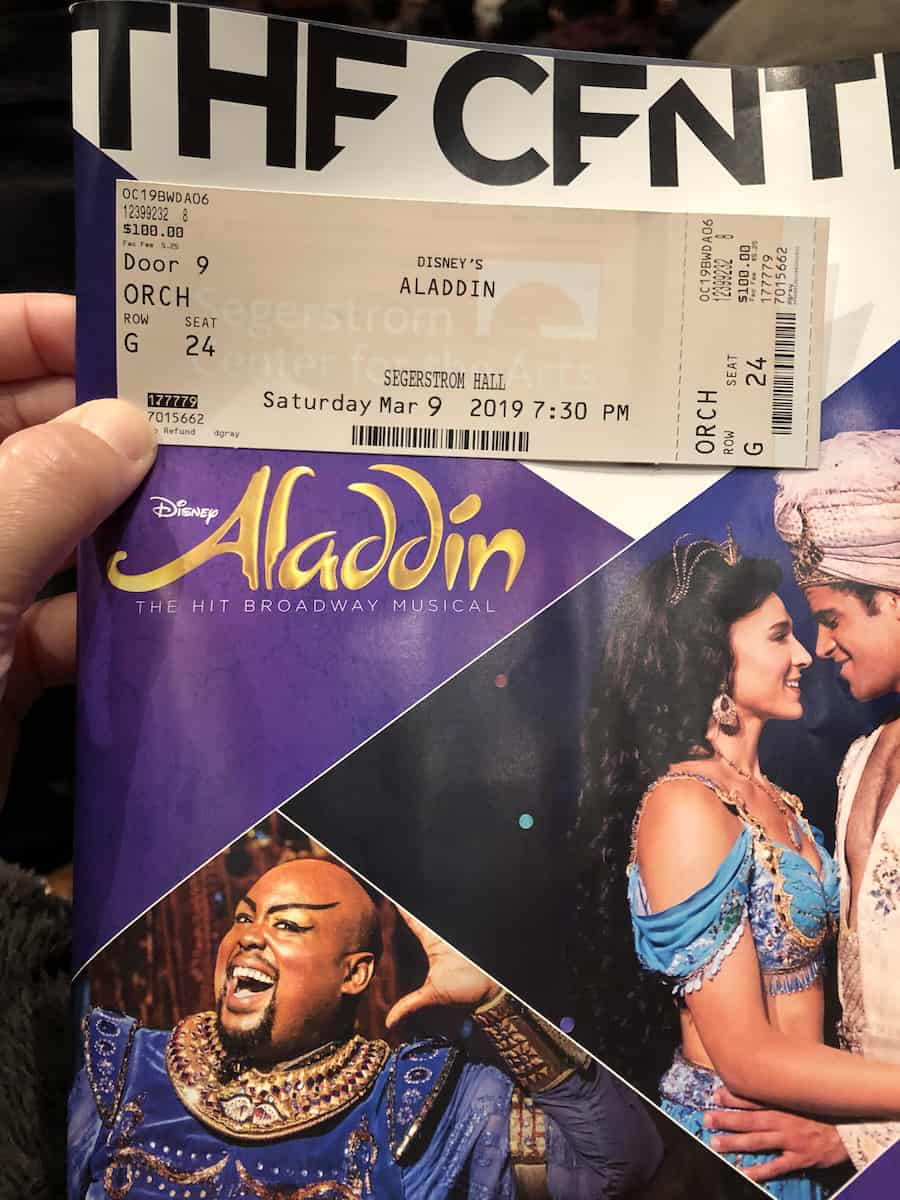 Disney Aladdin, best things to do in Costa Mesa