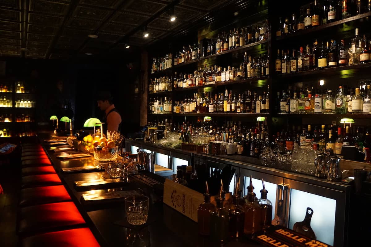 Looking for a more traditional speakeasy experience with a dark interior and limited seating? Pay a visit to the Apparition Room where you'll find an intimate cocktail experience priced from $12 to $14 each. | fun things to do in Temecula | things to do in Temecula | Riverside County | https://www.travelingwellforless.com