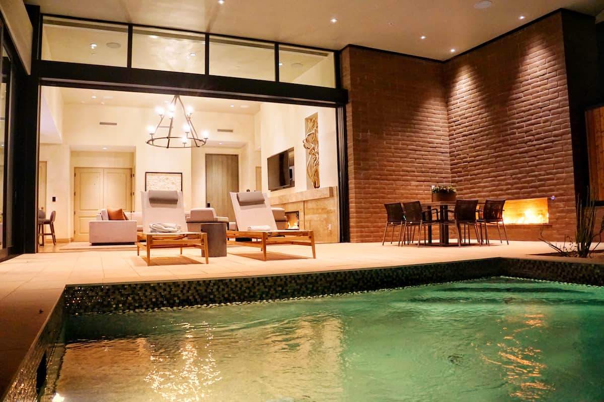 wellness retreat house in arizona