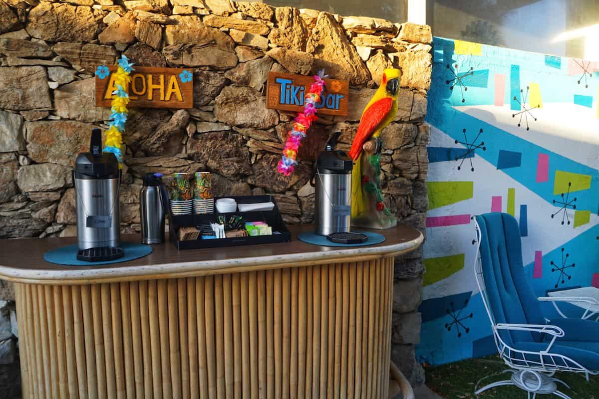 tiki bar coffee and tea