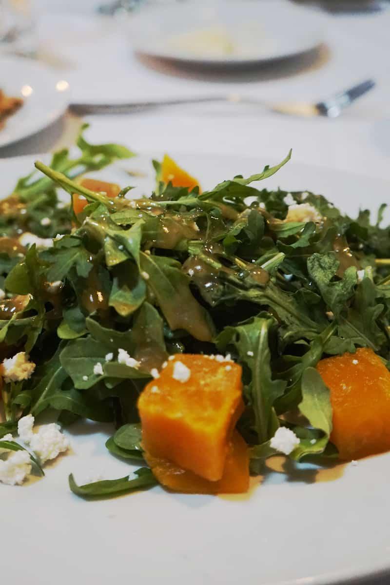 golden beat beet salad