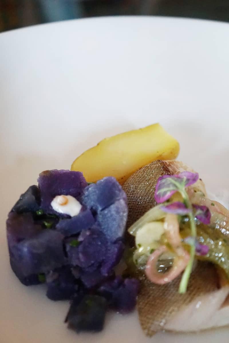 cod purple potatoes