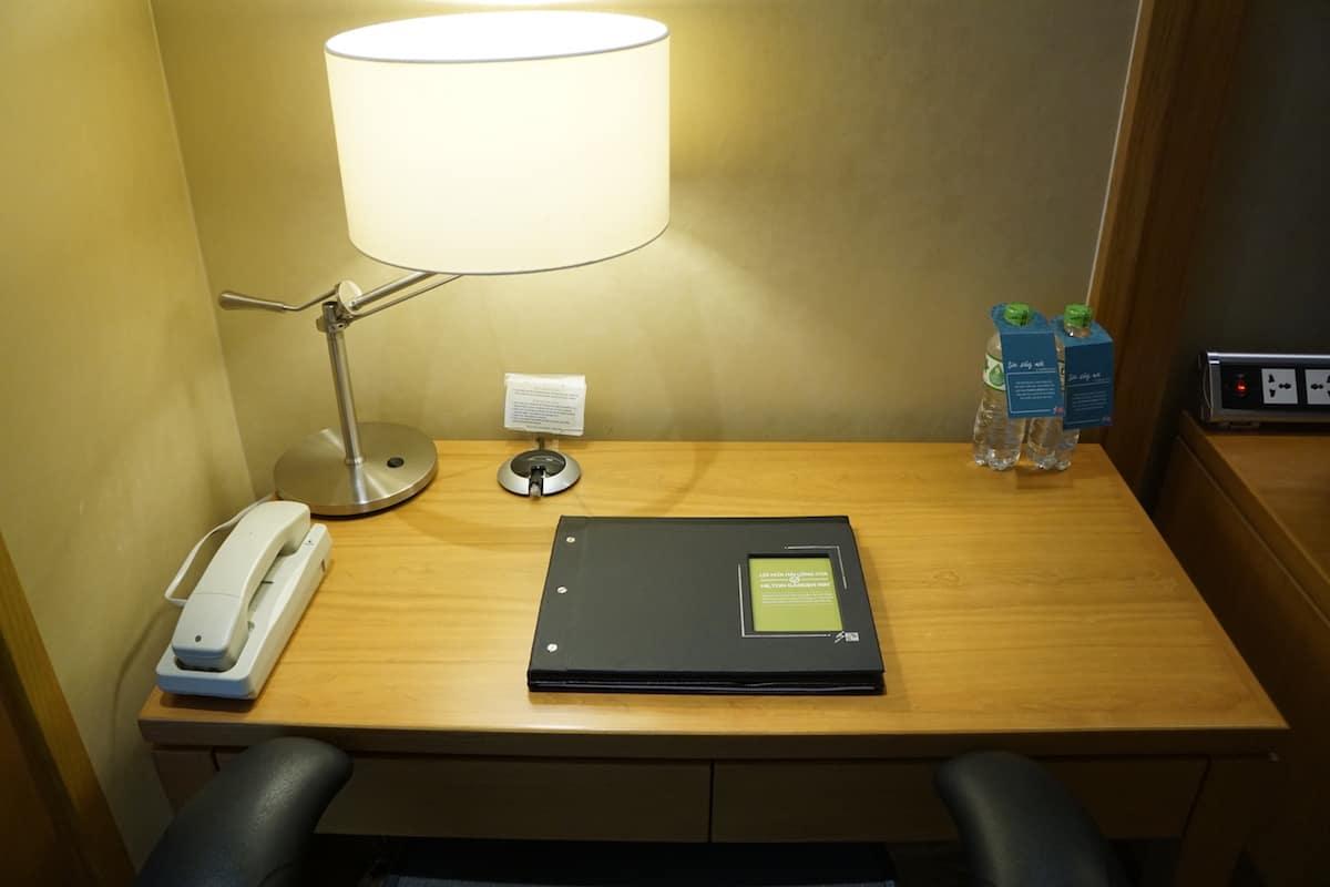 hotel work desk