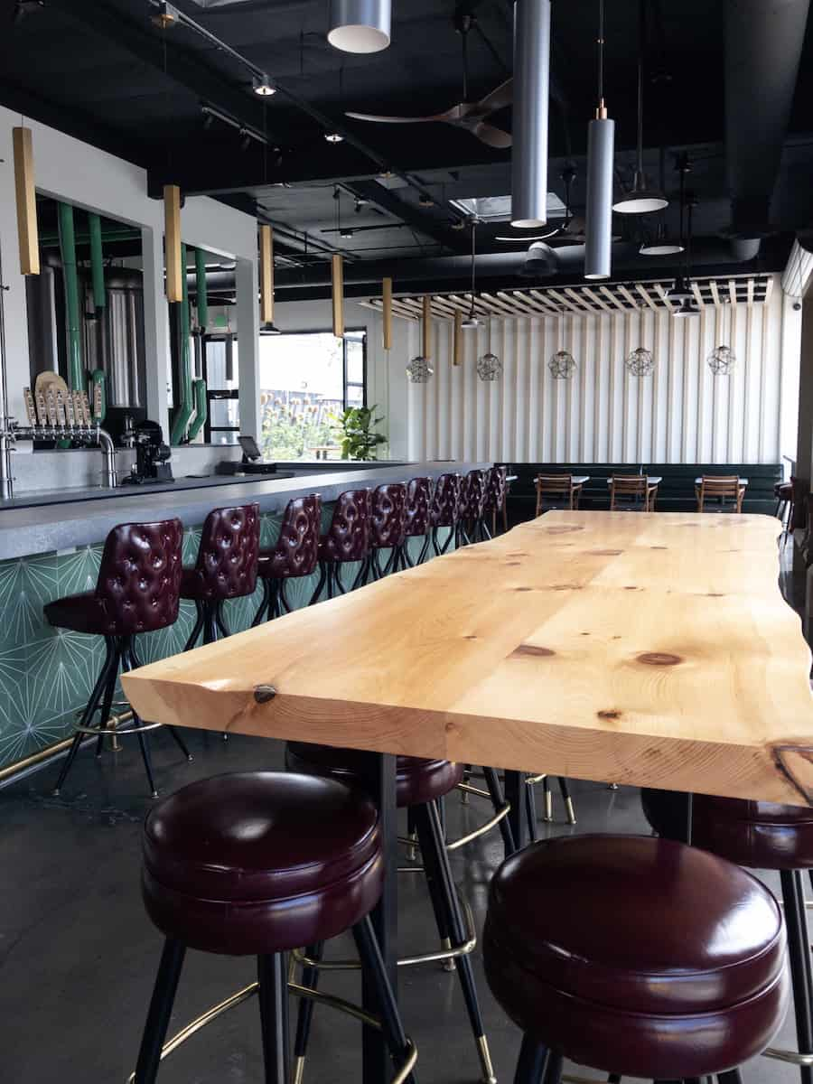 brewery seating