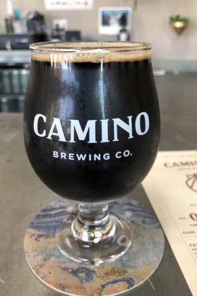 Camino Brewing Co Imperial Stout beer