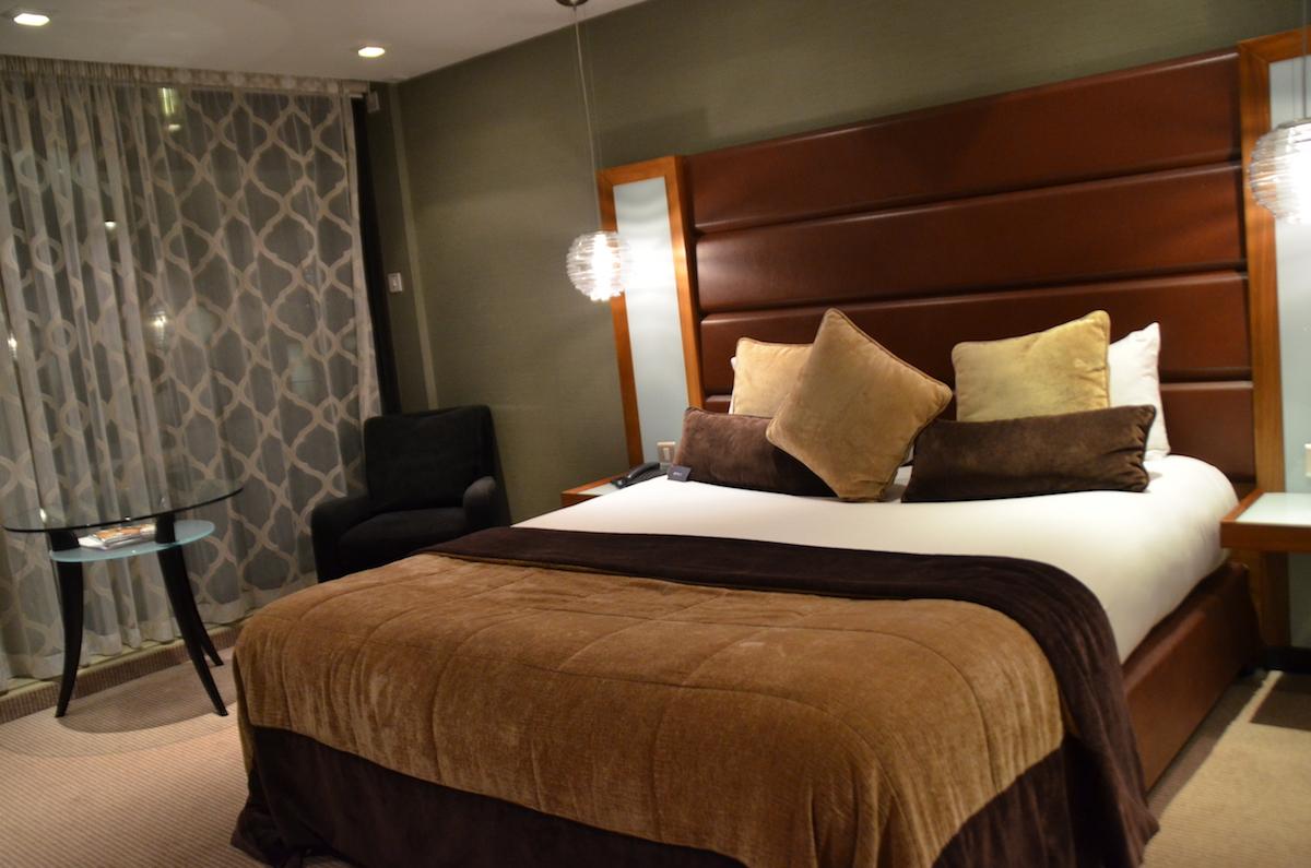 premium hotel room at Radisson Blu Edwardian Manchester Hotel