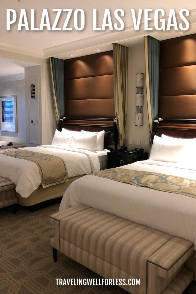 luxury suite hotel room in Las Vegas