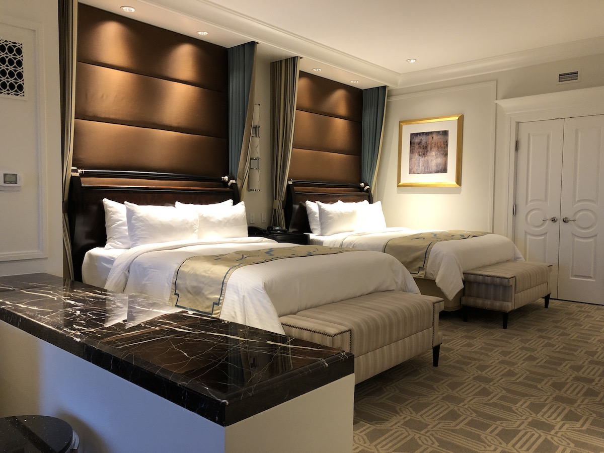 the palazzo las vegas two queen suite room