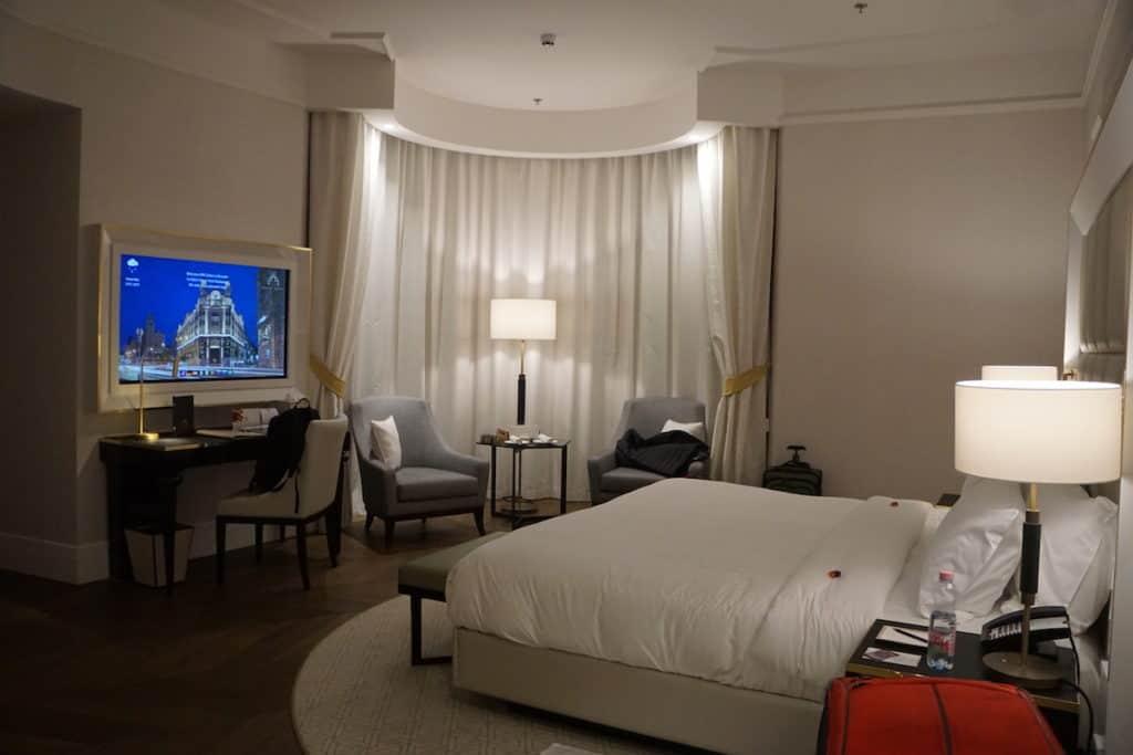 luxury hotel suite at Parisid Udvar Hotel Budapest