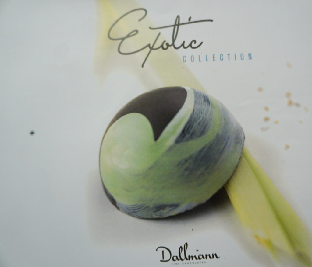 cover of Exotic Collection Austrian chocolate by Dallmann Confections