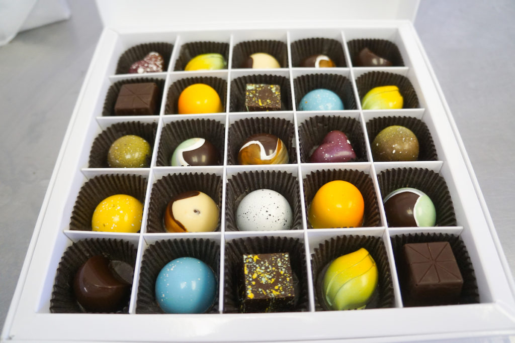 Dallmann Confections Sanity Saver assorted Austrian chocolate box