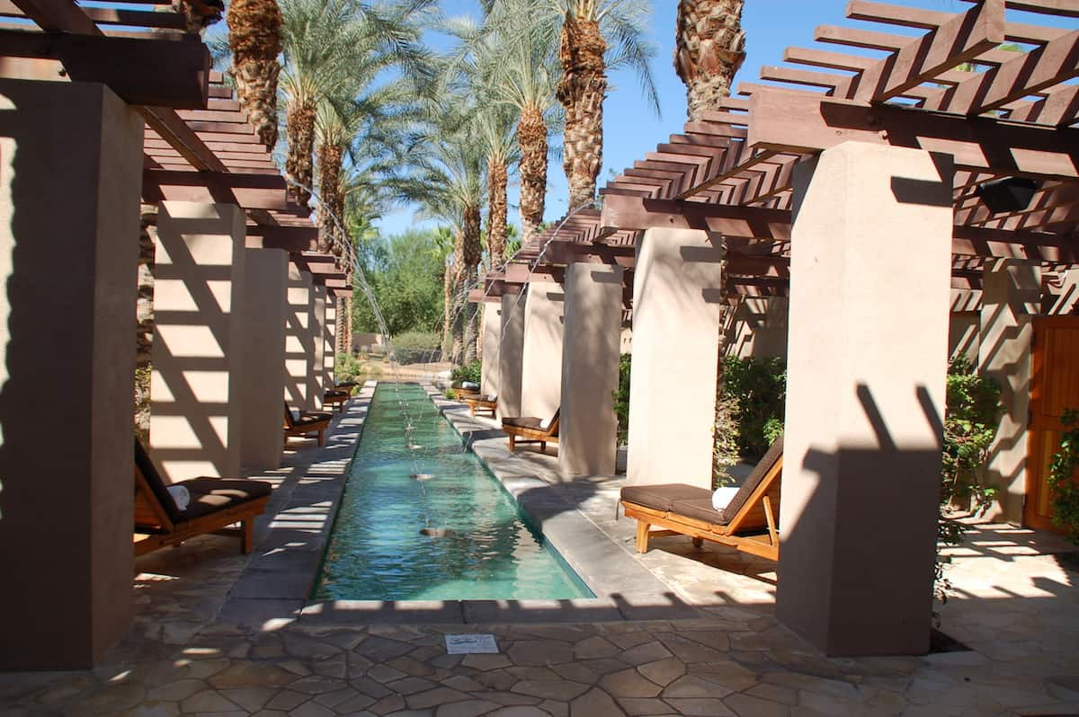 spa reflection pool