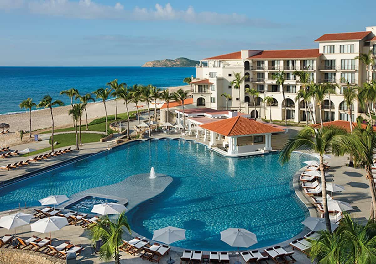 beachfront resort with pool