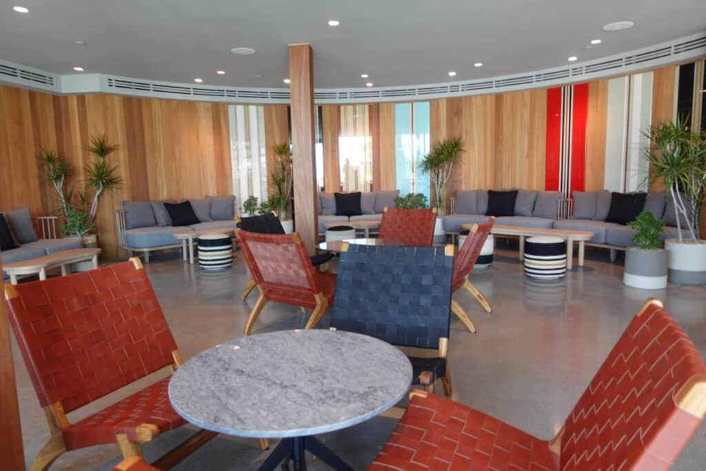 poolside restaurant at Alila Marea Beach Resort