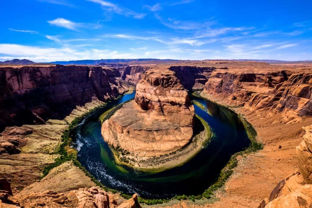 Horseshoe Bend observation area, Page, Arizona, United States