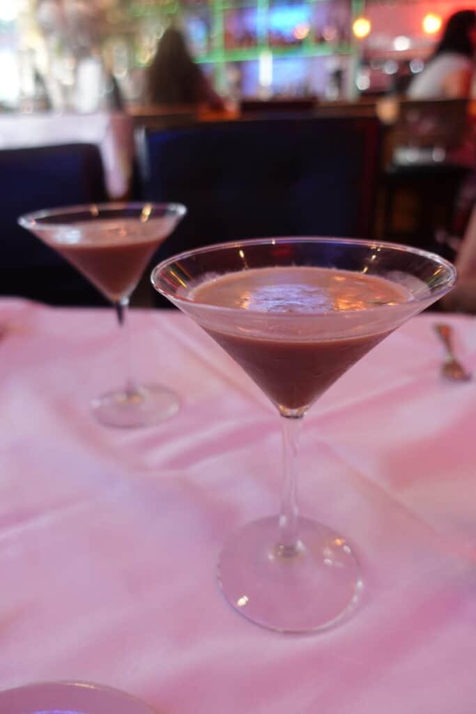 chocolate espresso martini, the real espressotini greystone steakhouse san diego gaslamp