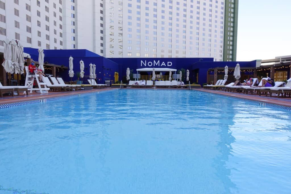 las vegas boutique hotel pool, NoMad Las Vegas pool