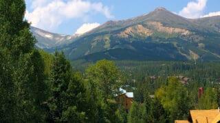 mountain town in colorado, breckenridge