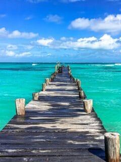 dock during day time Hyatt Ziva Cancun, Boulevard Kukulcan, Punta Cancun, Hotel Zone, Cancún, Quintana Roo, Meksyk