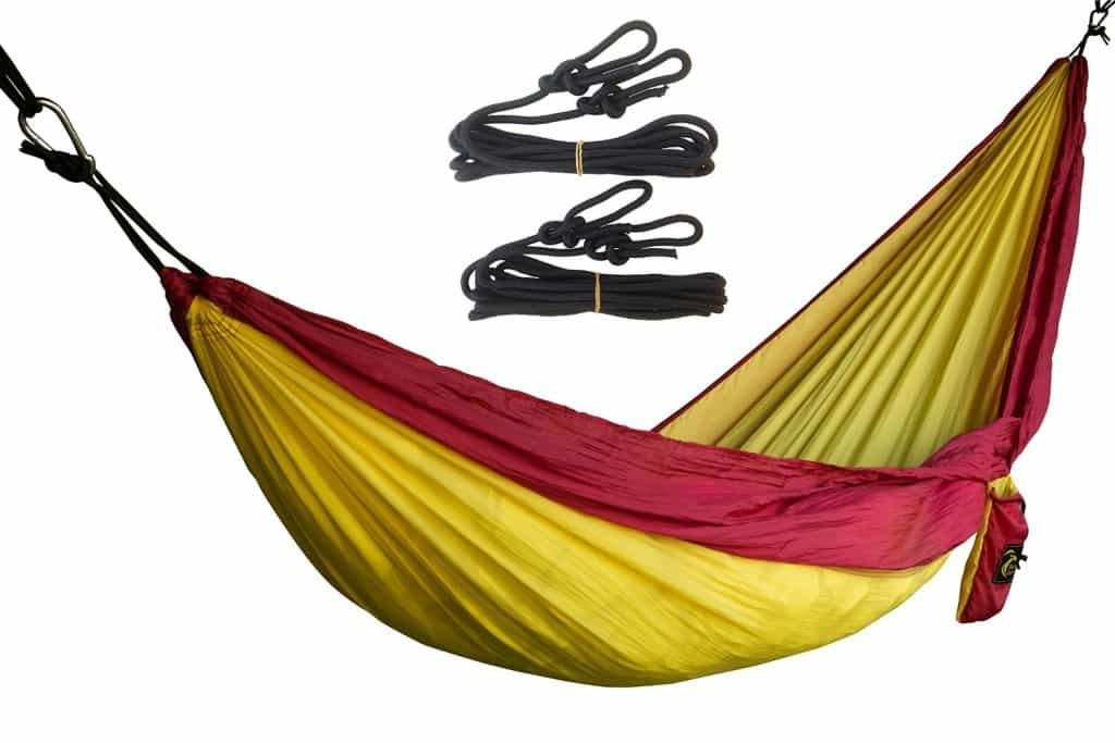 camping hammock, travel gifts, 25 travel gifts for $25 or less, Traveling Well For Less