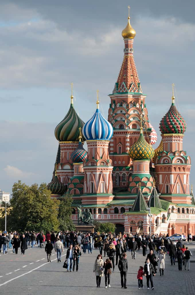 moscow, red square, Traveling Well For Less