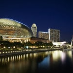 Singapore, The Esplande, Traveling Well For Less