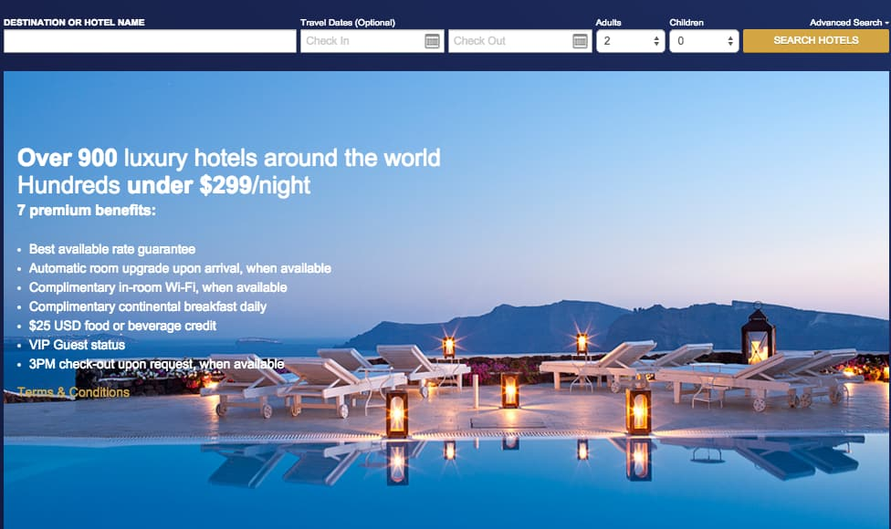 free daily continental breakfast,Visa Signature Luxury Hotel Collection, Traveling Well For Less