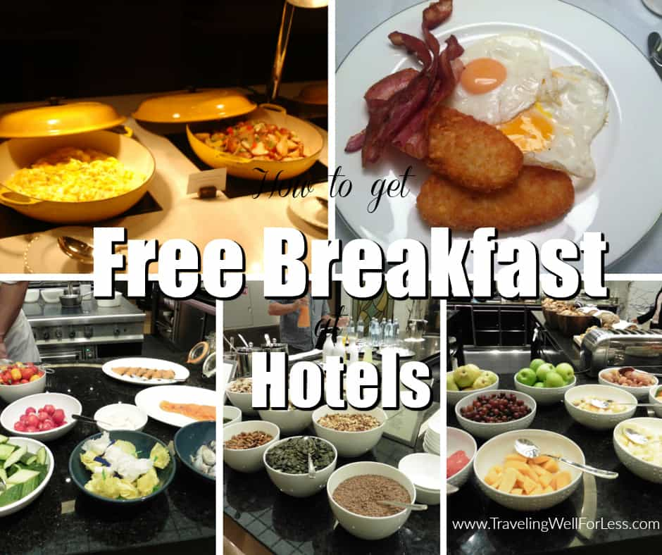Getting free breakfast at hotels is easy if you know these tricks. Traveling Well For Less