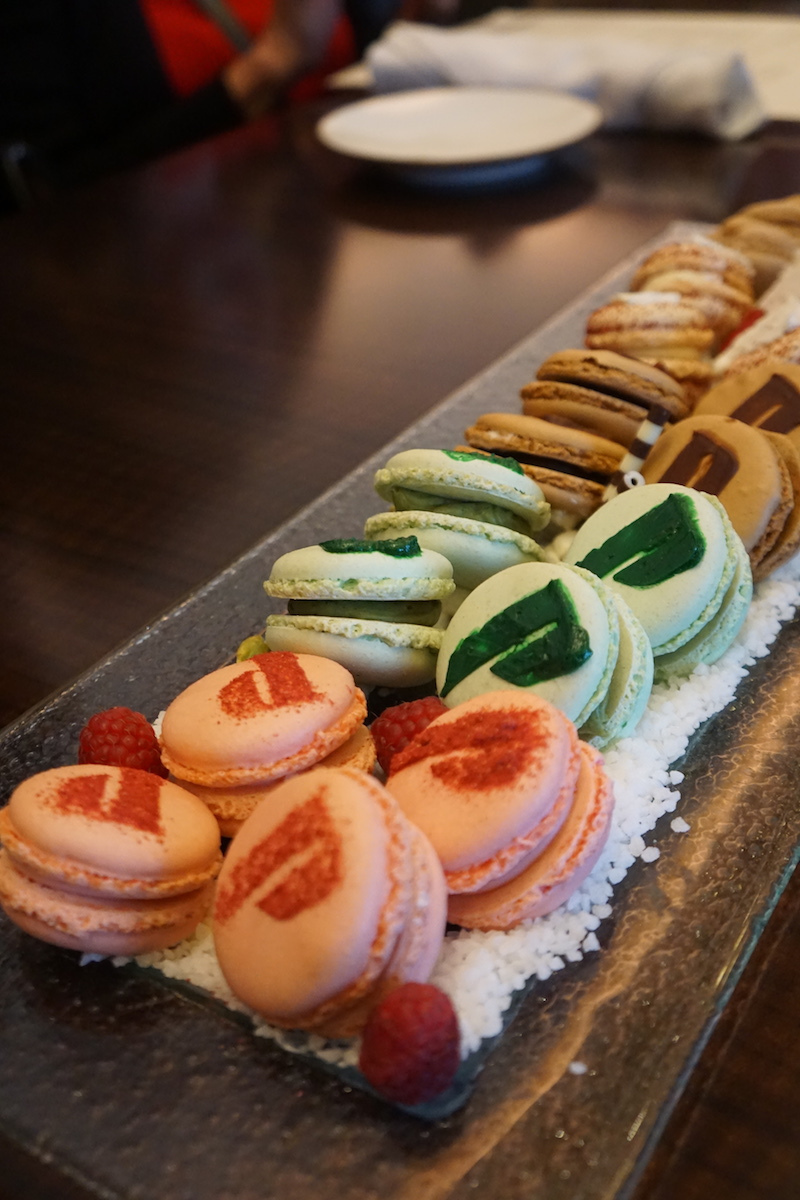 macaroons at Pechanga Lobby Bar and Grill