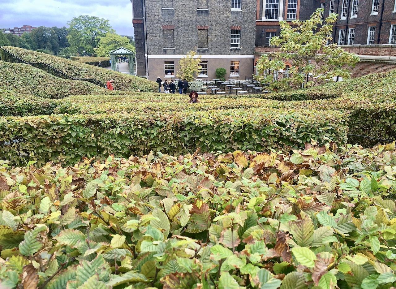 people enjoying Kensington Gardens in London