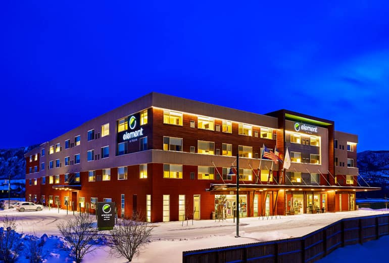 Thanks to free Wi-Fi, you can check the snow report from your room at the Element Basalt Aspen, free hotel internet, Traveling Well For Less