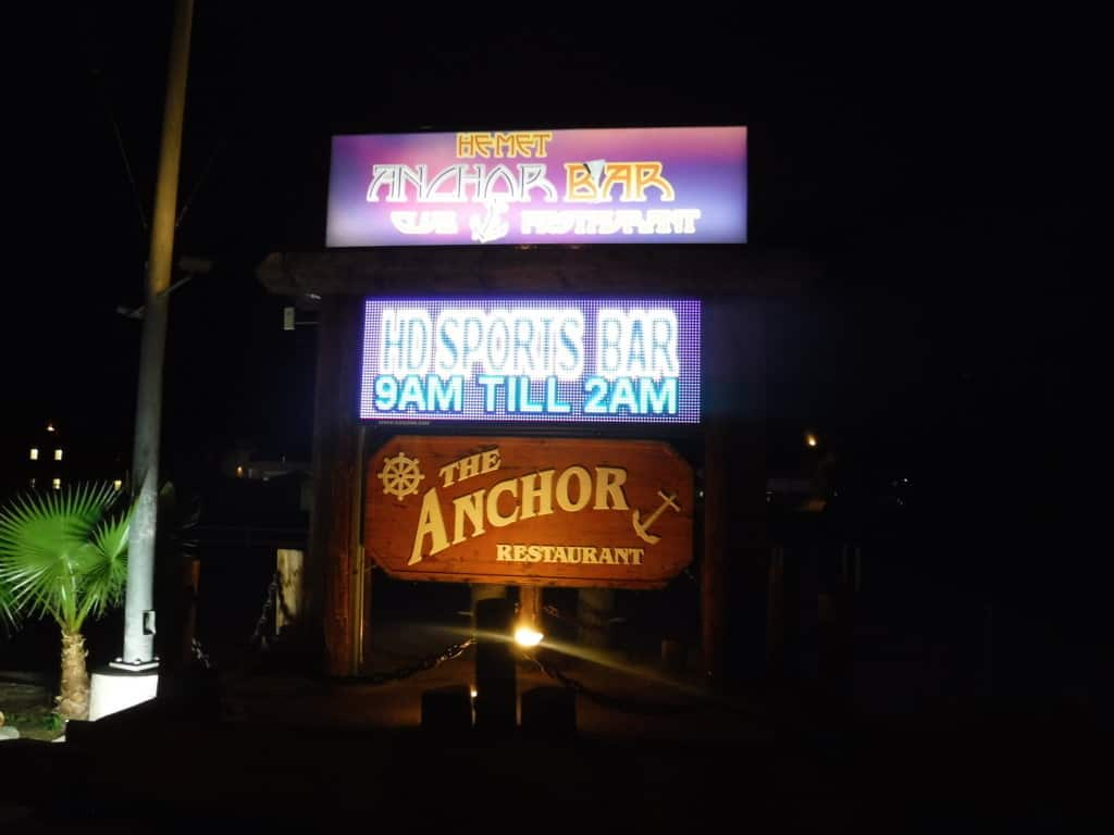 Anchor Bar and Restaurant, Hemet, where to eat in the San Jacinto Valley, Traveling Well For Less