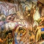 Milford Zornes, fresco, Ramona Bowl, art, San Jacinto Valley, Traveling Well For Less