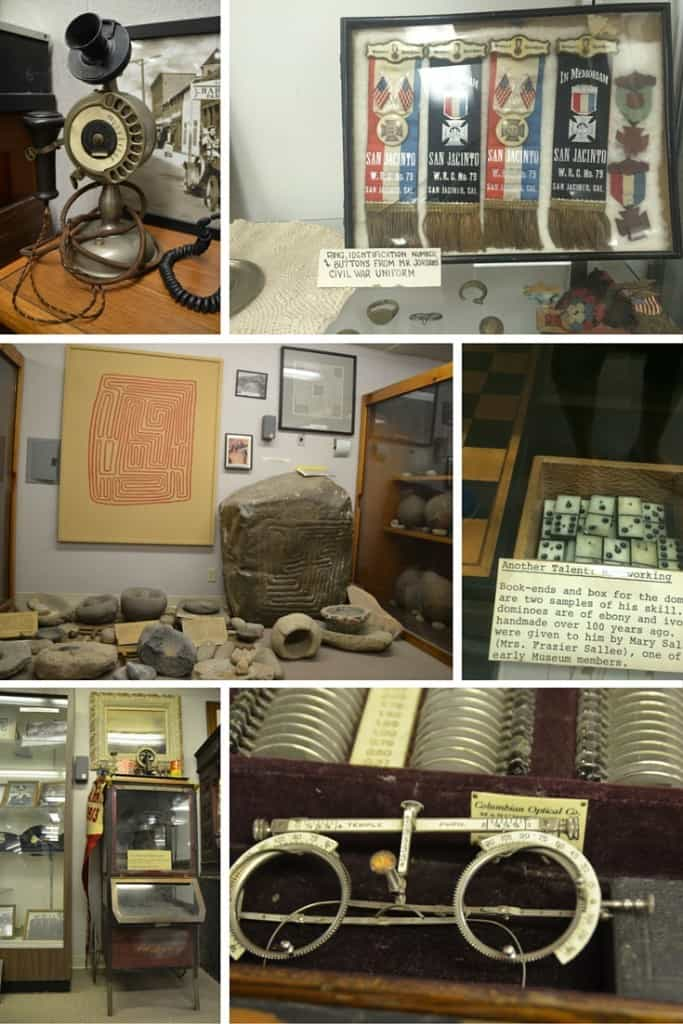 San Jacinto Museum, exhibits, museum, Things to do in the San Jacinto Valley, Hemet, California, Traveling Well For Less