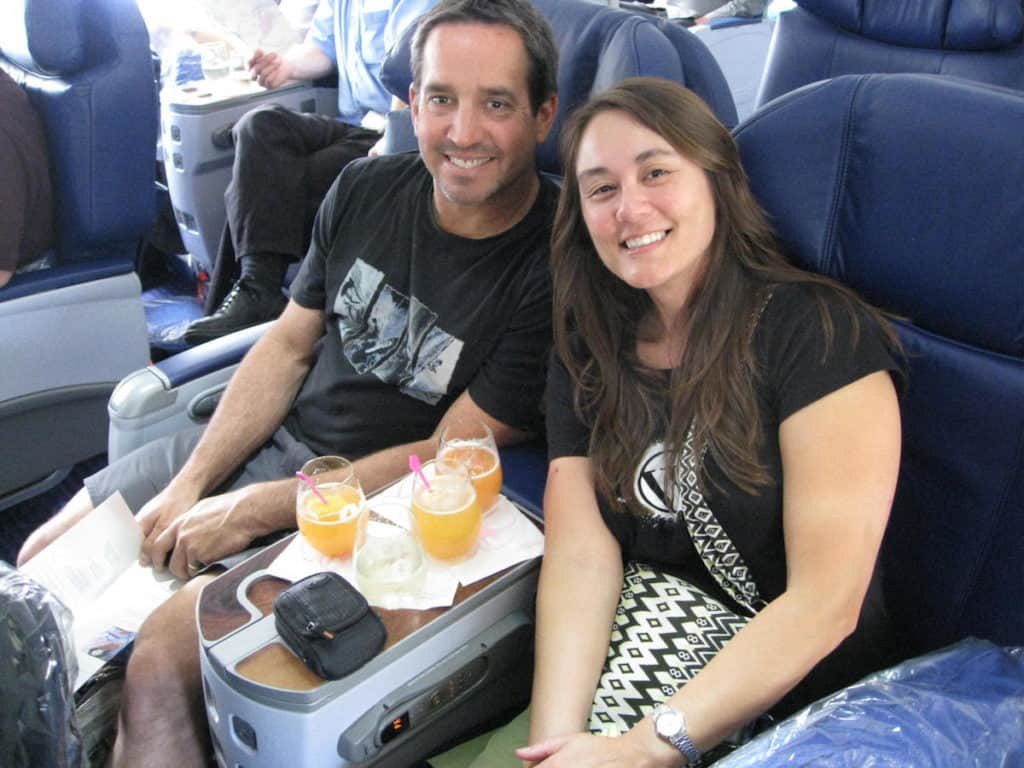 Flying First Class from Honolulu to Sydney on Hawaiian Airlines. Traveling Well For Less